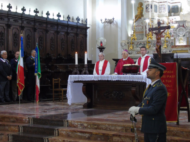 Vibo Valentia: celebrata la solennità di San Matteo, patrono della Guardia di Finanza