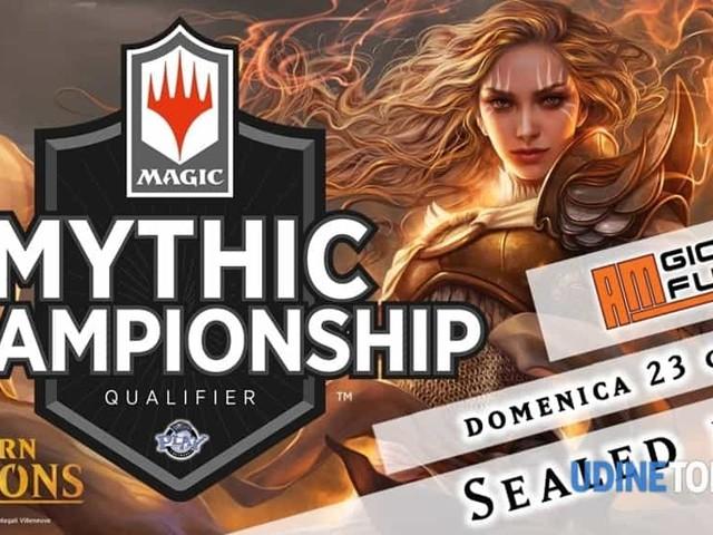 Mythic championship qualifier magic da AM giochi e fumetti