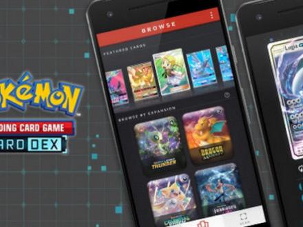 Il CardDex del GCC di Pokémon disponibile sul Play Store