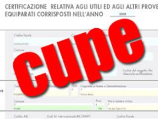 Modello CUPE editabile 2018 2019