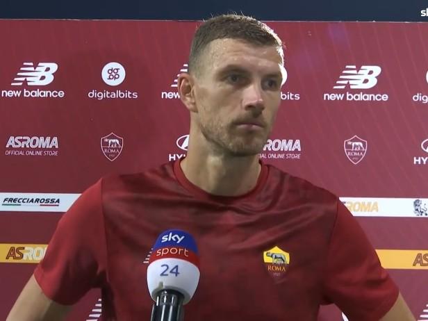 """Roma, Dzeko: """"Stanco del mercato, penso solo alla Roma"""""""