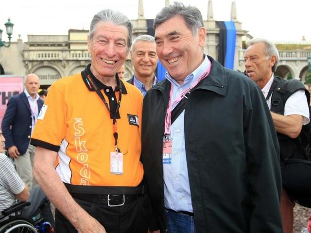 """Eddy Merckx non parteciperà ai funerali di Felice Gimondi: """"Non ce la faccio, sto troppo male"""""""