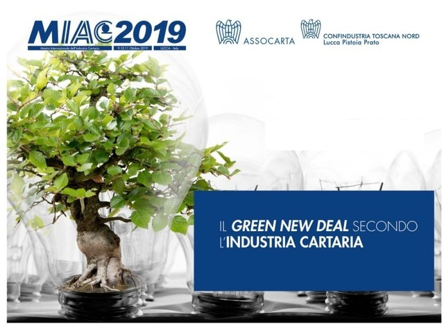 Parte da Lucca il Green new deal dell'industria cartaria italiana