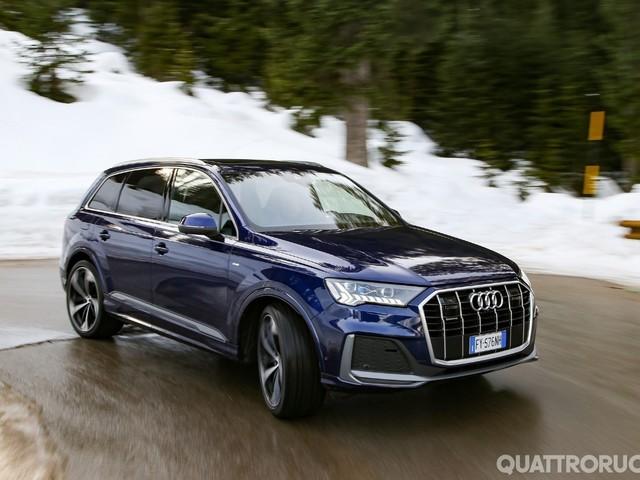 Audi Q7 - Al volante della 50 TDI quattro