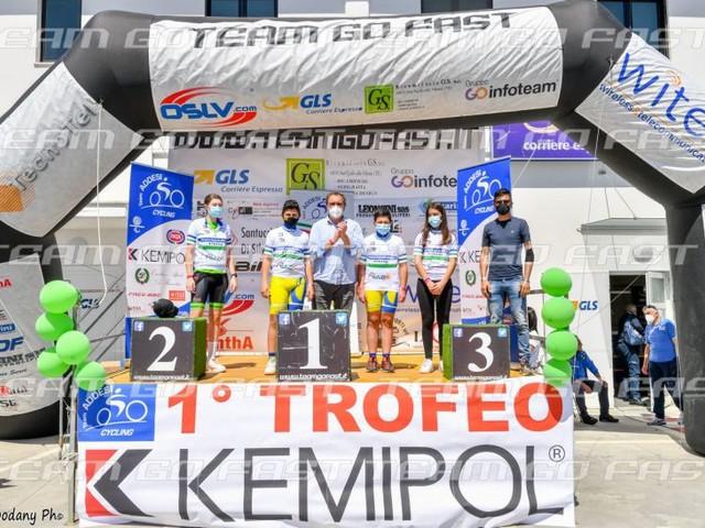 Daniel Bartolotta e Giacomo Serangeli sul podio più alto del Trofeo Kemipol