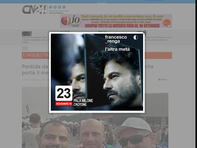 Pontida da record, rientro per la Lega di Nicotera che porta il messaggio di Salvini