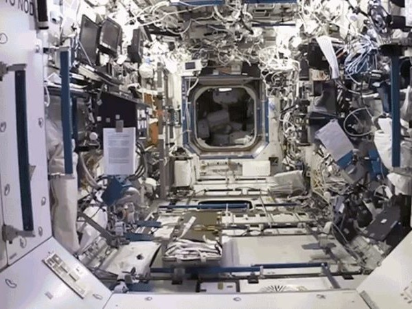 Skip Astronaut Training and Explore the ISS Right Now in Google Street View