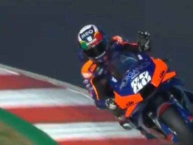MotoGP qualifiche Portimao: a Oliveria l'ultima pole dell'anno
