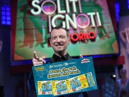 Soliti Ignoti, Lotteria Italia 2019: verifica vincite e biglietti vincenti