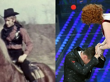 Fiorella Mannoia a Sanremo 2018, ospite della Finale: foto-storia dagli spaghetti western a Combattente