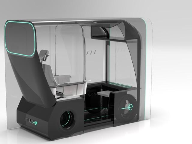 Muvone, concept di un taxi a guida autonoma per muoversi in sicurezza