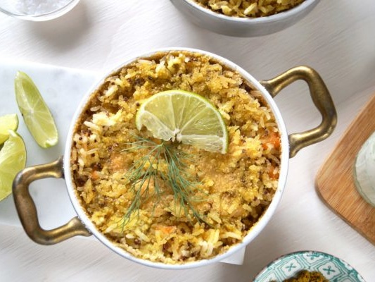 Ricetta timballo di riso salmone e latte di cocco, un primo piatto completo e gustoso