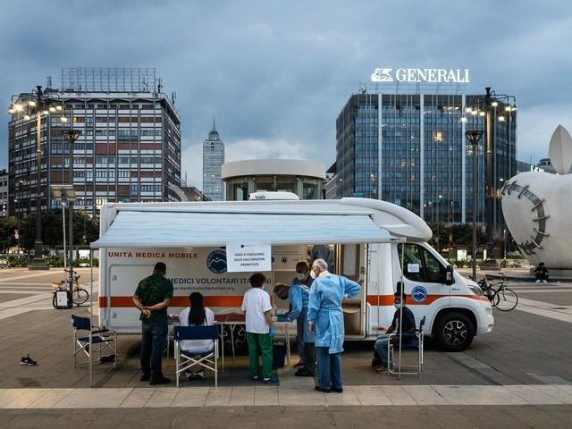 """Operazione senzatetto di medici e infermieri: """"L'immunità un diritto"""""""