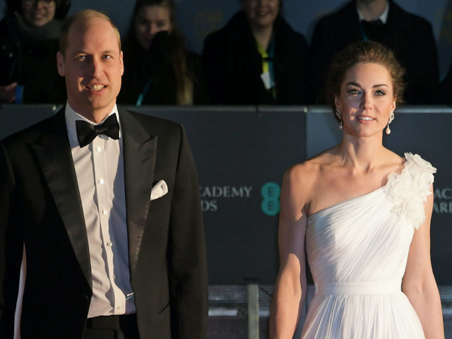 Kate Middleton e William star dei BAFTA 2019