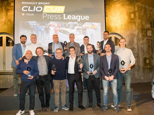 Vincitori 2017 Renault Clio Cup Press League