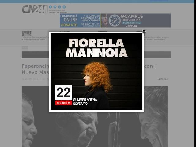 Peperoncino jazz e tango: commistione musicale con i Nuevo Mas alle Terme Luigiane