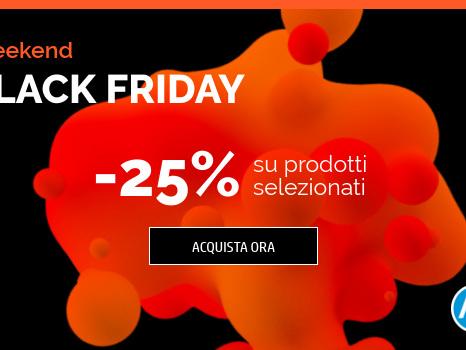 HP Online Store: PC Desktop, notebook, monitor e stampanti scontati del 25% per il Black Friday