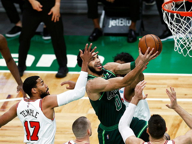 Bulls Snap Celtics' 6-Game Streak, 102-96