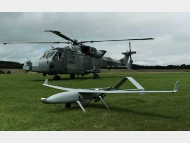 Leonardo dimostra l'interoperabilità tra elicotteri e droni