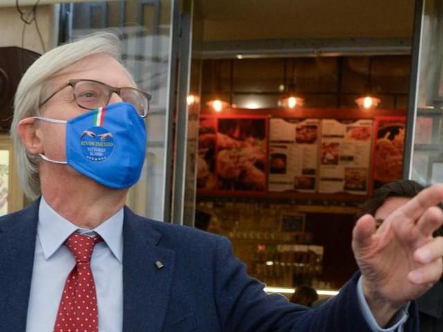 Comunali Roma, Sgarbi lancia il 'tridente'
