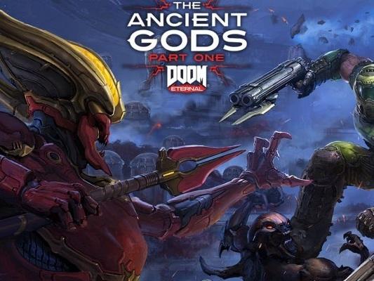 DOOM Eternal: The Ancient Gods in un primo trailer, il DLC verrà presentato alla Gamescom - Video - PC
