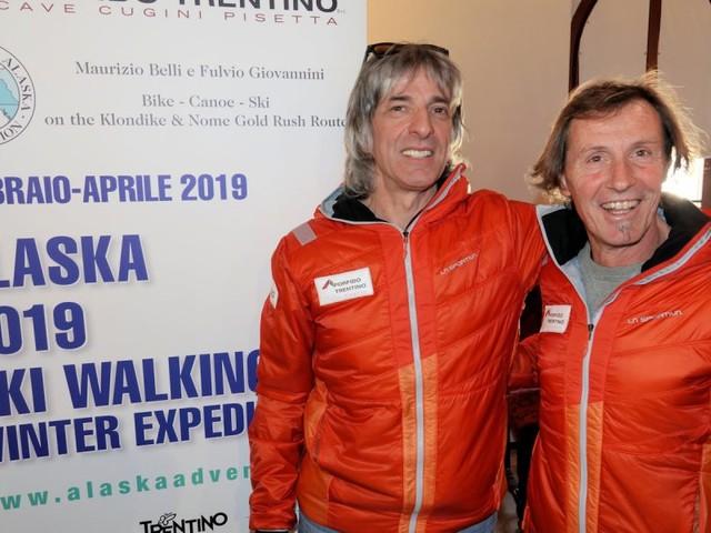 Presentata a Palazzo Geremia «Alaska 2019 Ski Walking Winter Expedition»