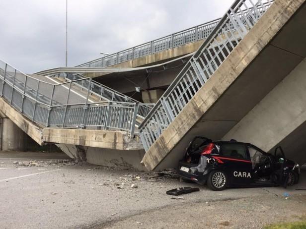 """Cavalcavia crollato, sindaco di Fossano: """"Non si spenga l'attenzione"""""""