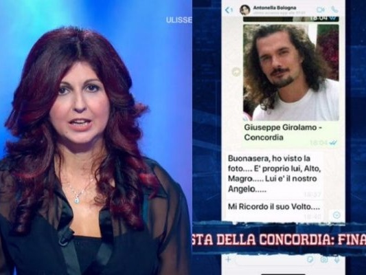 """Antonella Bologna, superstite della Costa Concordia: """"Giuseppe Girolamo mi ha salvato la vita"""""""