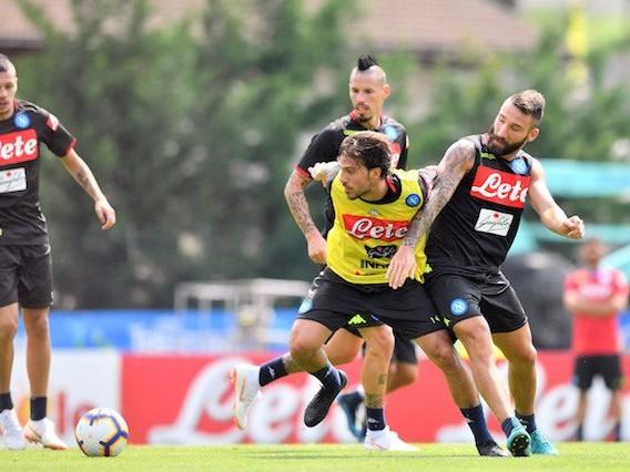 Napoli, eccesso di velocità in campo per Verdi: il gps e Ancelotti lo richiamano ai box