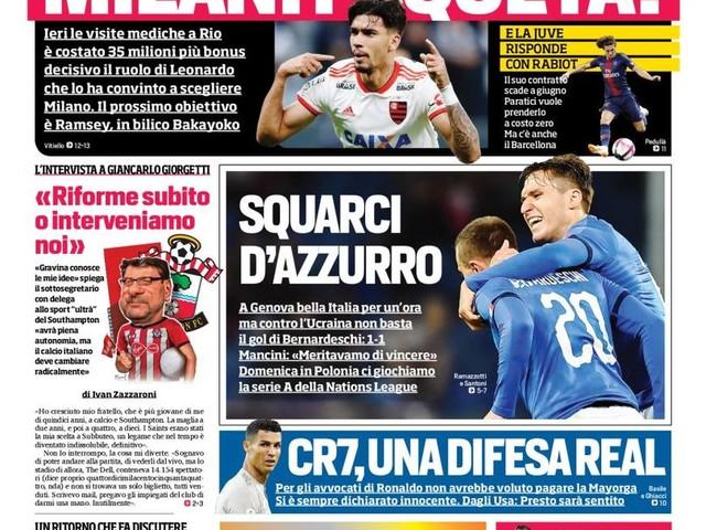 Corriere dello Sport – Che voglia di derby