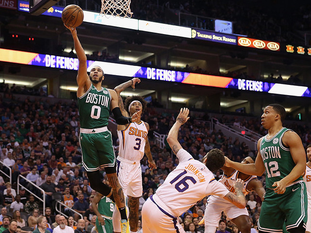 Tatum Scores 26 To Lead Celtics Over Suns 99-85