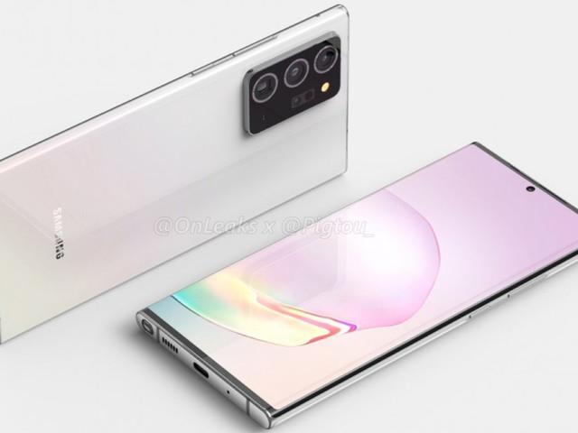 Galaxy Note 20 Plus emergono dettagli sulla tripla camera posteriore