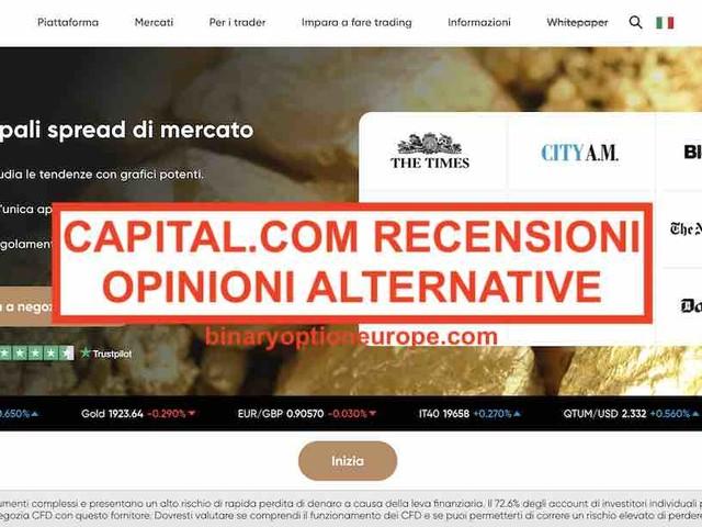 Capital.com recensioni opinioni [2020] Alternative affidabili