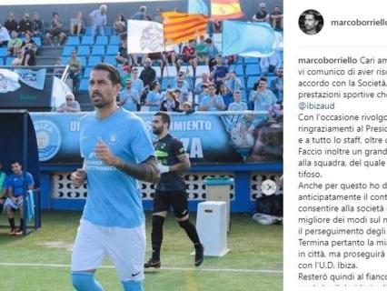 Marco Borriello si ritira dal calcio giocato?