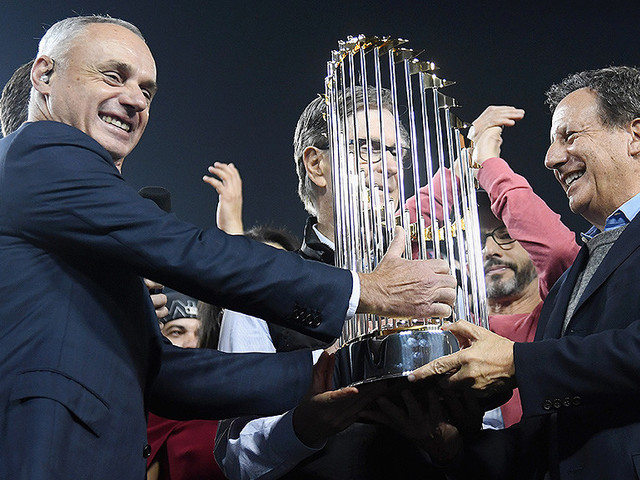 Rob Manfred Will Not Be Stripping Astros, Red Sox Of World Series Titles