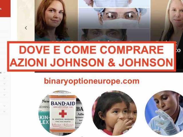 Dove e come comprare azioni Johnson & Johnson [2021] Previsioni e dividendi [JNJ]