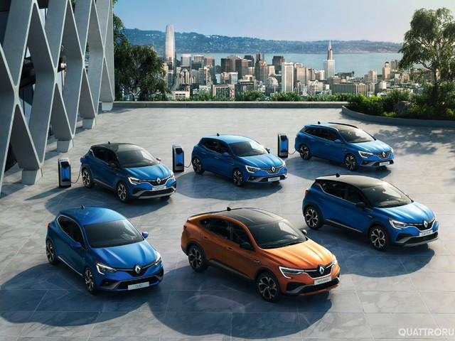 Renault - Si amplia la gamma delle ibride E-Tech