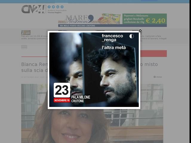 """Bianca Rende: """"esco dal Pd per entrare nel gruppo misto sulla scia di Renzi"""""""