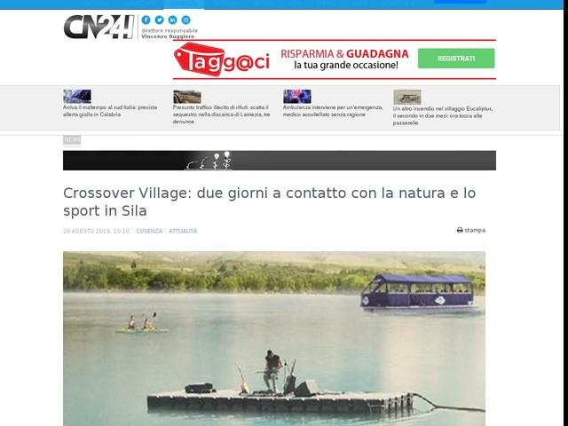 Crossover Village: due giorni a contatto con la natura e lo sport in Sila