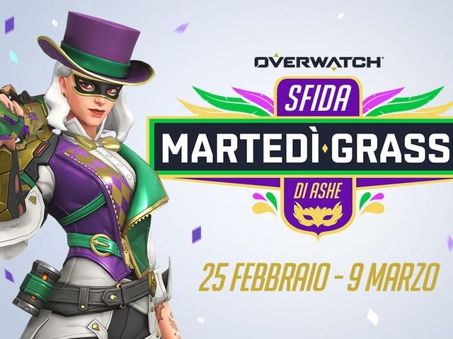 Overwatch: arriva l'evento dedicato al martedì grasso