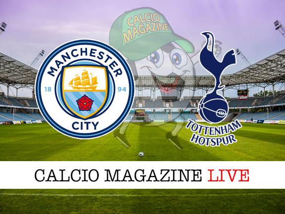 Manchester City – Tottenham: cronaca diretta live, risultato in tempo reale