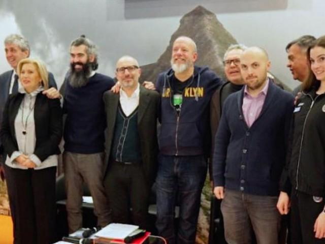 """Le telecamere di """"Quelli che il Calcio"""" all'Overtime Festival Winter di Milano"""