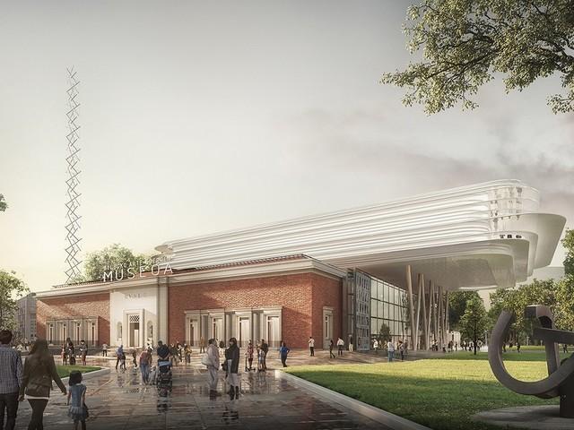 Norman Foster vince il concorso per il rinnovamento del Bilbao Fine Arts Museum
