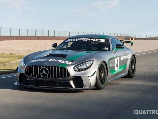 Mercedes-AMG GT4 - Esordio in pista per la sportiva tedesca