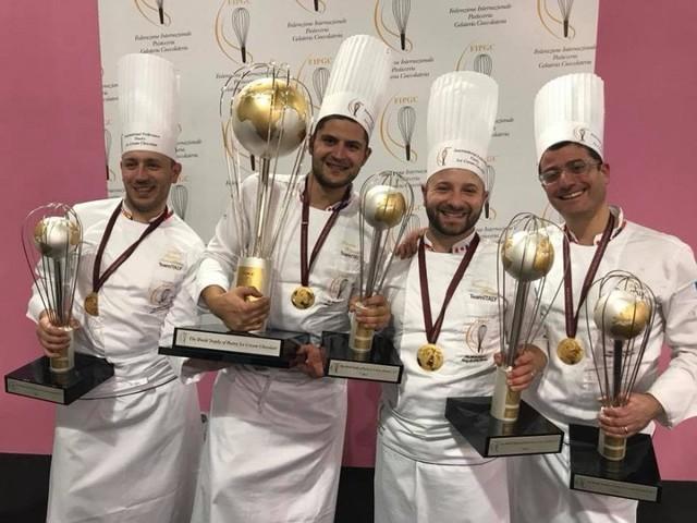 Italia campione del mondo di pasticceria, gli 'azzurri' trionfano a Milano