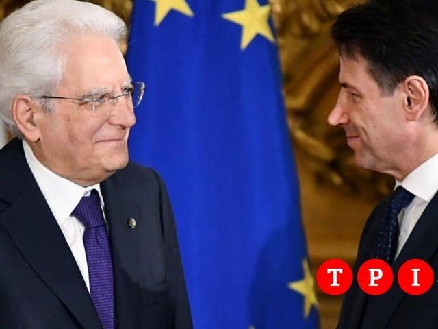 Governo, Conte è salito al Quirinale per un colloquio con Mattarella