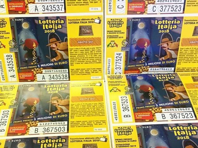 Estrazione Lotteria Italia 6 gennaio: biglietti vincenti estratti in tv su Rai 1