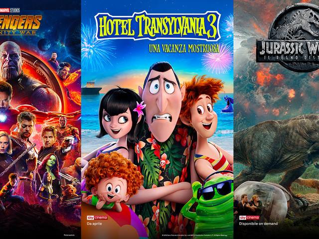 4 mesi gratuiti del ticket Cinema NOW TV in regalo con Vodafone Happy