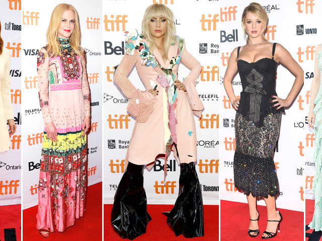 Lady Gaga e Nicole Kidman in rosa, Angelina Jolie in bianco. Ecco i look del Toronto International Film Festival