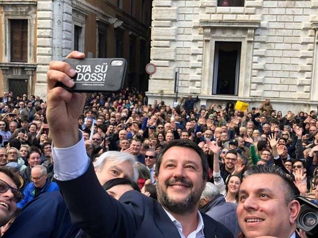 Perugia, Salvini attacca Di Maio e Zingaretti: 'Non vanno nelle piazze, hanno vergogna'